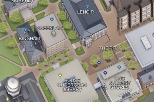 Pruitt Campus Map.New 3d Interactive Mapping Solution For Campus Finance And Operations