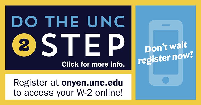 Connect Carolina Two Step Verification