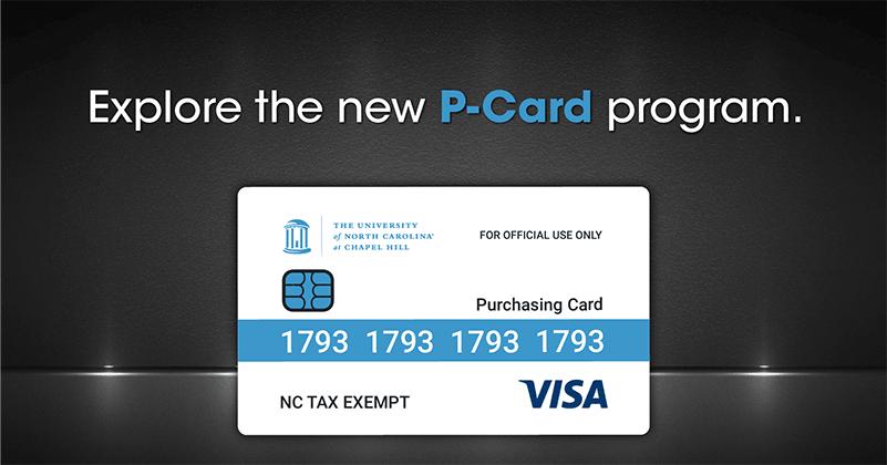 Explore the New P-Card Program