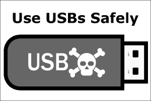 Use USB drives safely