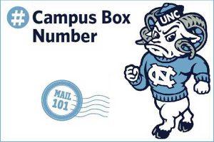 Campus Box Number Graphic