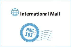 International Mail Graphic