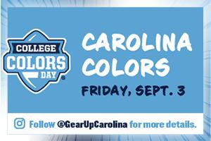 Carolina Colors: Friday, Sept. 3